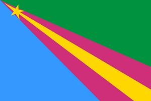 Флаг Заволжского района